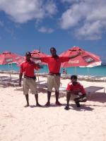 meet the Harbour Lights crew - courtesy harbourlightsbarbados.com