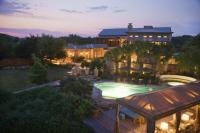 overview of Lake Austin Spa Resort