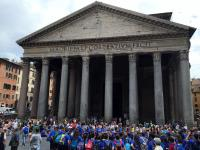 Rome's Pantheon is impressive ...