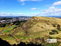 Holyrood Park view from Arthur's Seat