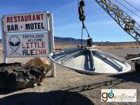 make a pit stop in Rachel, Nevada