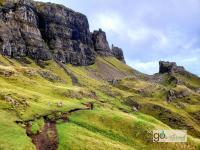 there's 98% more of Scotland to explore ... like the Isle of Skye's Quairing Trail hike!