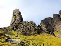 iconic Old Man of Storr on the Isle of Skye