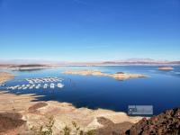 overview of Lake Mead National Recreation Area (click photo to enlarge)