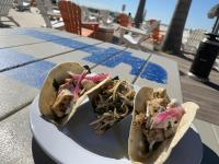 tacos at Sirata's Rum Runners