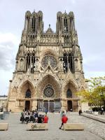 Notre Dame Cathedral - Reims - the crowning place of French Kings