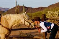 Let your inner cowgirl out at White Stallion Ranch