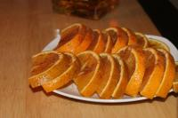 cinnamon oranges with tequila